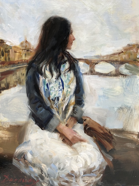 , 'Gazing Upon Firenze,' 2018, Vanessa Rothe Fine Art