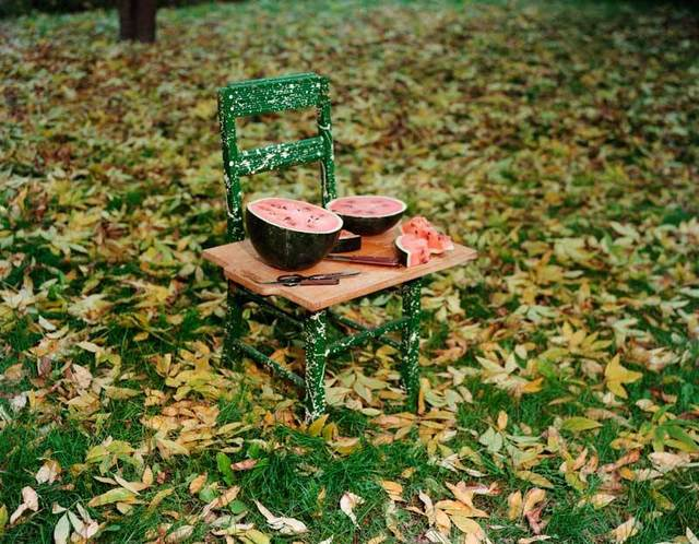 , 'Watermelon and Chair, W. Suffield, Connecticut, 1982,' 1982, Aperture Foundation