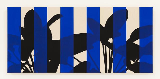 , 'Philodentron Rojo Congo (Blue),' 2016, Instituto de Visión