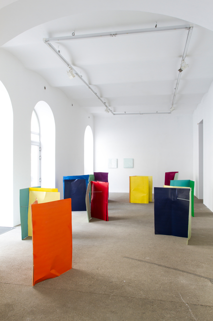 , 'Flyer Vol. 3 (Gesamtinstallation),' 2018, Galerie Elisabeth & Klaus Thoman