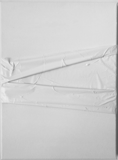 , 'PW6 (XIV) AA. Prueba de Leucofobia: Blanco sobre blanco (Leukophobia test: White on white),' 2019, SET ESPAI D'ART