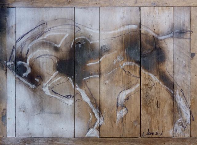 , 'Equus Wood Drawing,' 2016, Diehl Gallery