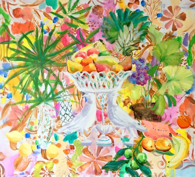 Melanie Parke, 'Slim Moon in the Pear Trees', 2017, Garvey   Simon