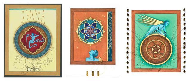 , 'Finding Home #94, #95, #96: (Fereshteh) Ishmael, Abraham and Isaac,' 2008, ACA Galleries