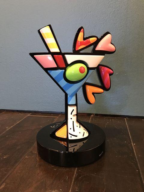 Romero Britto, 'Martini', 2015, Off The Wall Gallery