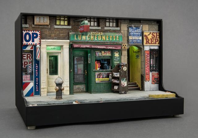 , 'Hopp's Luncheonette,' 2008, Hollis Taggart Galleries