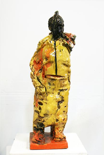 , 'Black Head Warrior,' 2012, Turner Carroll Gallery