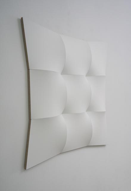 , 'Nine White Squared Circles II,' 2018, Peter Blake Gallery