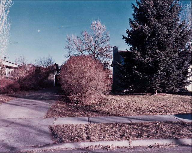 Stephen Shore, 'North Black Avenue, Bozeman, Montana', 1981-printed in 1982, Photography, Dye-transfer print on paper, Skinner
