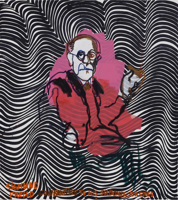 , 'Freud,' 2017, Zemack Contemporary Art