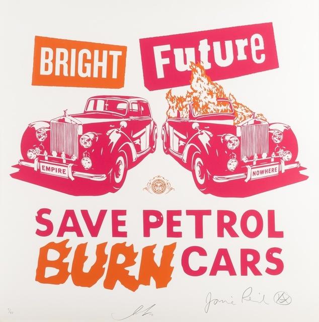 Shepard Fairey, 'Bright Future (Pink & Orange)', 2012, Forum Auctions