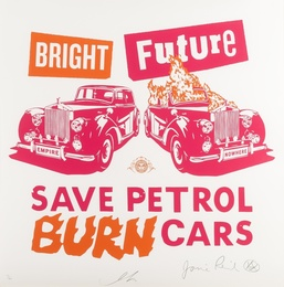 Bright Future (Pink & Orange)