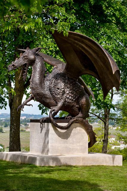 Mark Coreth, 'Seated Dragon ,Chateau Haut Brion', 2014, Sladmore Contemporary