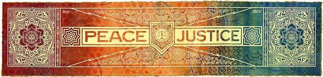 , 'Peace & justice risk hpm,' 2013, RUDOLF BUDJA GALLERY