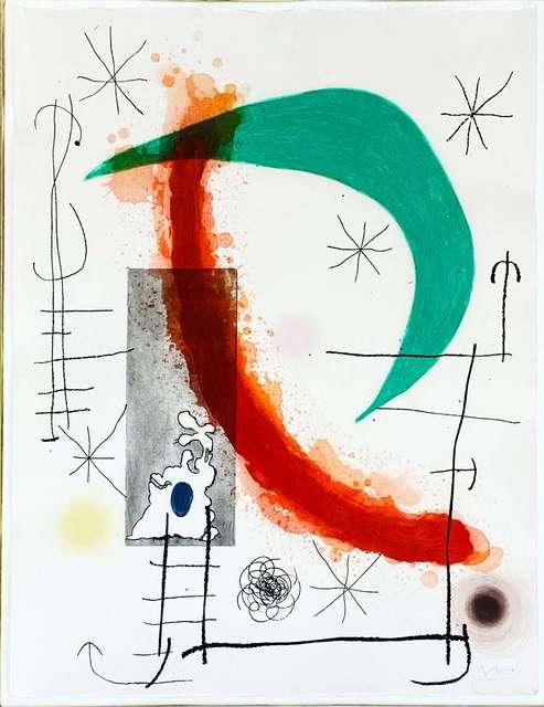 Joan Miró, 'L'Escalade', 1969, Hidden