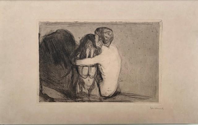 Edvard Munch, 'Trøst (Consolation) ', 1894, Print, Drypoint, John Szoke