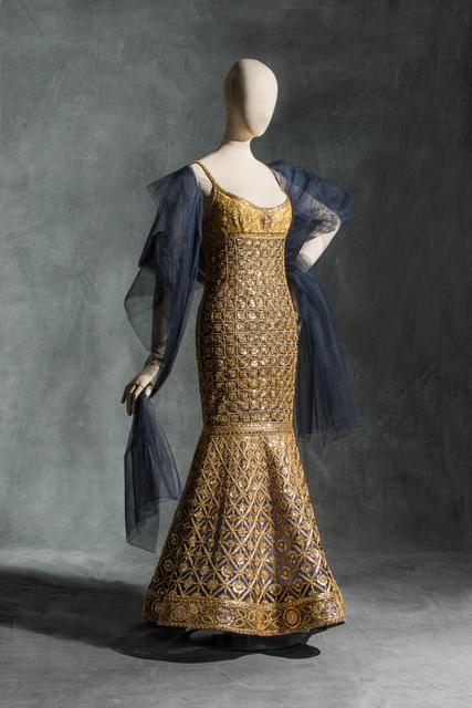 """, 'Karl Lagerfeld pour Chanel, Robe du soir """"Coromandel"""",' 1996, Les Arts Décoratifs"""