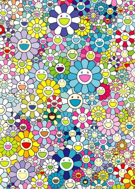 Takashi Murakami, 'Champagne Supernova: Blue', 2013, Upsilon Gallery