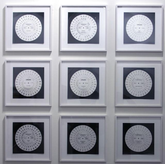 , 'Phototype (Diatype) 1-9,' 2011, Annely Juda Fine Art