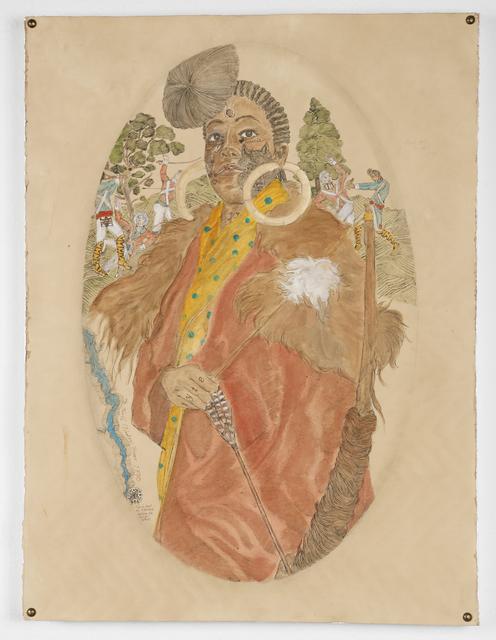 , 'L-Y-L-Y-T-E Bessie of the Sister's of the Red Wood.,' 2016, Johannes Vogt Gallery