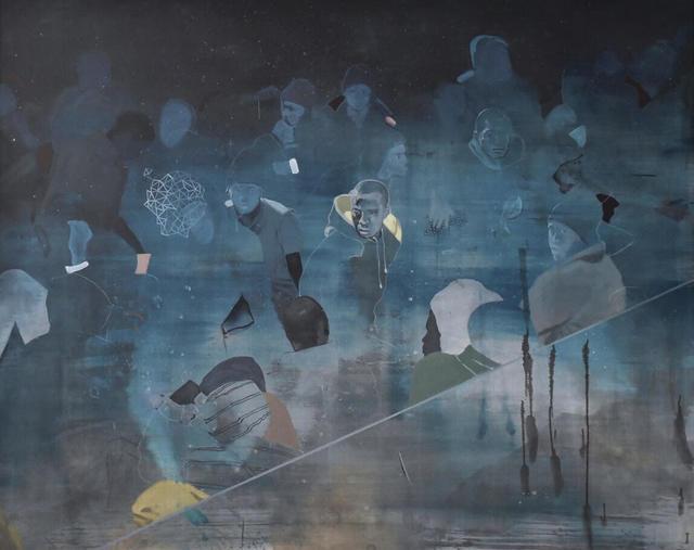 Nabil El Makhloufi, 'La voie lactée', 2017, L'Atelier 21
