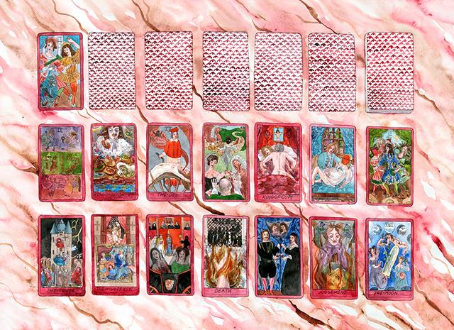 Jennifer May Reiland, 'Tarot cards II', 2017, Galeria Enrique Guerrero