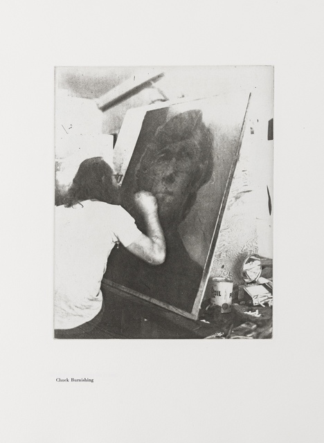 Chuck Close, 'A Documentation with Ten Photographic Etchings of the Work in Progress', 1972, Forum Auctions