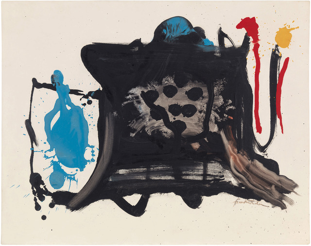 , 'Black Shapes on Black,' 1961, Gagosian