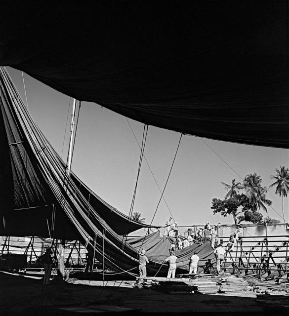 , 'Circo Nerino, Recife, Brasil,' 1947, Marcelo Guarnieri