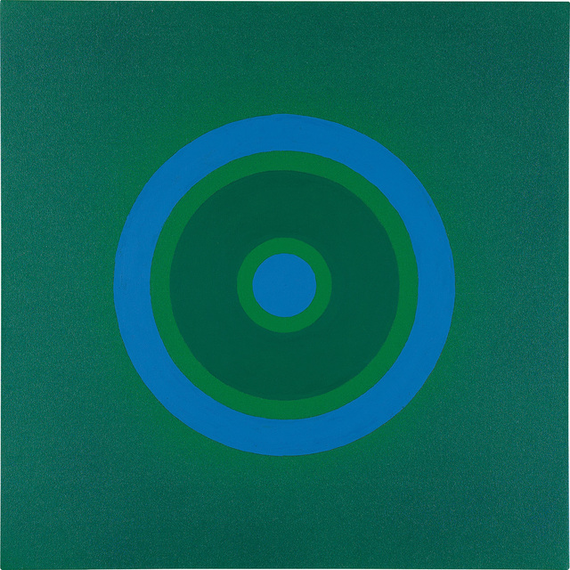 Kenneth Noland, 'Mysteries: To Blue', 1999, Phillips