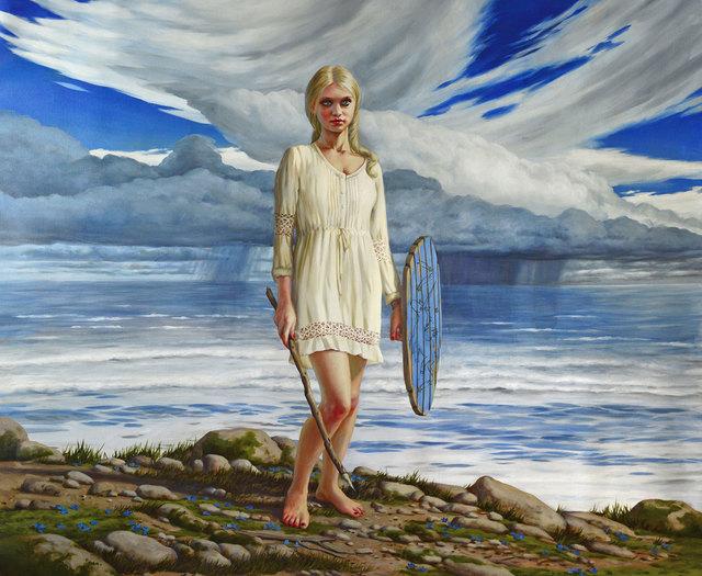 , 'Warrior Maiden,' 2017, William Baczek Fine Arts