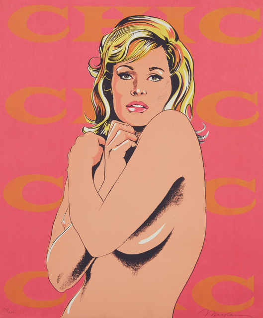 Mel Ramos, 'Chic, from 11 Pop Artists, Volume I', 1965, Print, Screenprint in colors, on heavy wove paper, the full sheet, Phillips