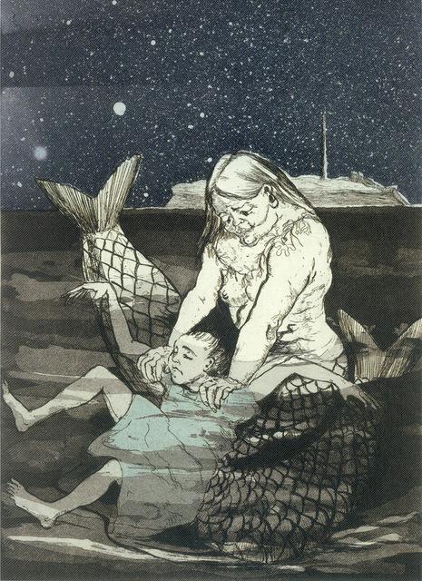 , 'Peter Pan: Mermaid Drowning Wendy,' 1992, Marlborough Gallery