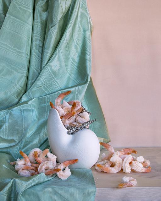 , 'Still Life with Frozen Shrimp,' 2013, Air Mattress Gallery