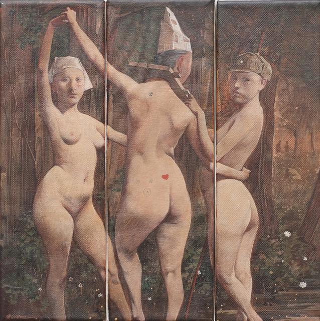 , 'The Three Goddesses,' 2011, Klein Sun Gallery
