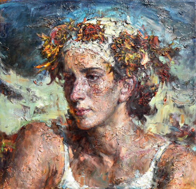 , 'Flowered Turban,' 2016, Odon Wagner Contemporary
