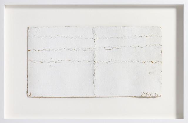 Herbert Zangs, 'Knickfaltung 54', Post War, e.artis contemporary