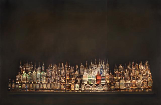Dan Witz, 'Bar Shrine #2 | Tryptich', 2009
