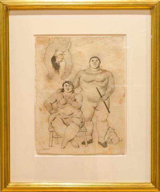 , 'Acrobats,' 2007, David Benrimon Fine Art