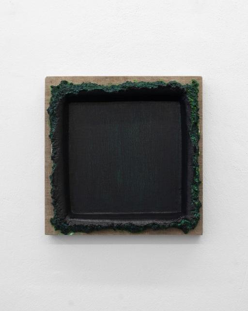 , 'Black Green Restretch,' 2018, Galerie Mehdi Chouakri
