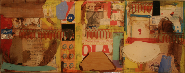 , 'Collage 2: Found Objects,' 2011, Accesso Galleria
