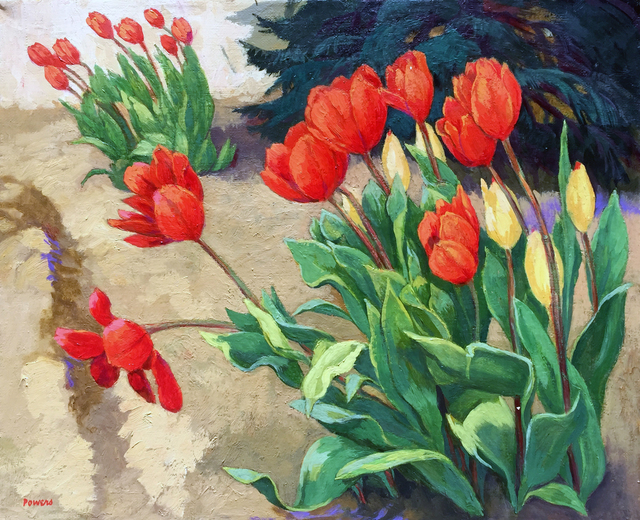 , 'Red Tulips,' , Childs Gallery
