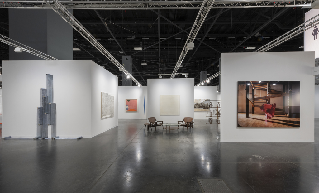 Galeria Nara Roesler, booth B10, Art Basel Galleries Sector, 2019 – photo © Adam Reich – courtesy of the artist and Galeria Nara Roesler