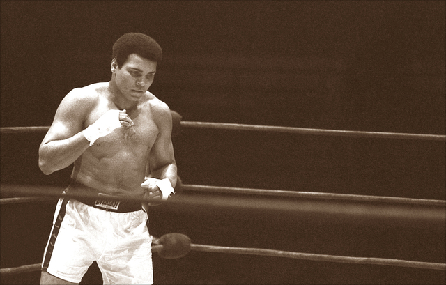 ", 'Float Like A Butterfly... Sting Like A Bee"" ,' ca. 1977, Richard Beavers Gallery"