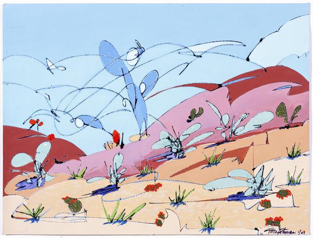 , 'Cowboy's Dream,' 2001, Joshua Tree Art Gallery