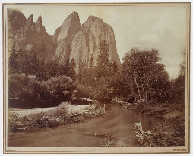 , 'Cathedral Rocks,' 1872, Michael Dawson Gallery