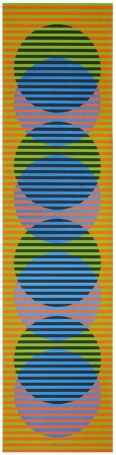 Carlos Cruz-Diez, 'Couleur Additive Série Sitges 2', 2012, La Patinoire Royale / Galerie Valerie Bach