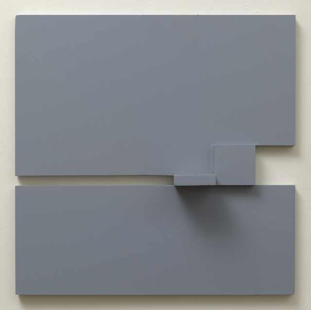 , 'Grey relief 2,' 1977, Waterhouse & Dodd