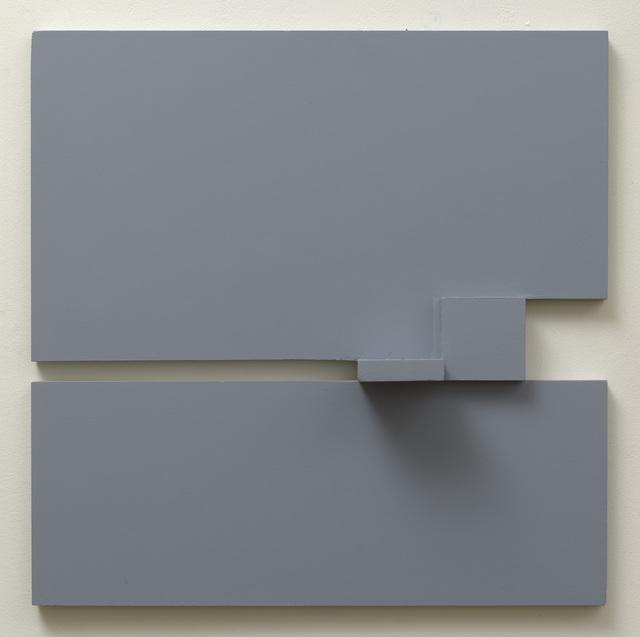 , 'Grey relief 2,' 1977, Waterhouse & Dodd