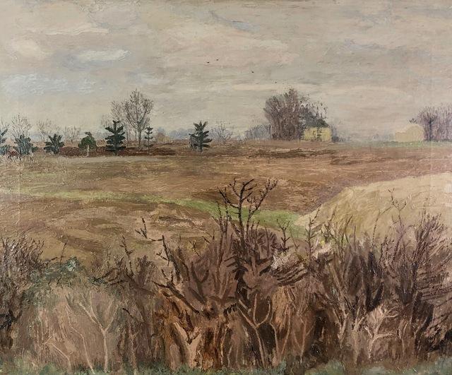 , 'Winter Landscape, Essex,' ca. 1946, Jenna Burlingham Fine Art